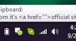 CopyQ System Tray Icon