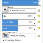 Gimp Tool Options