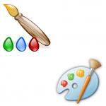 Paint & KolourPaint Logos